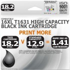Compatible Epson 16XL T1631 Black High Capacity Ink Cartridge