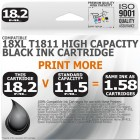 Compatible Epson 18XL T1811 Black High Capacity Ink Cartridge