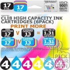 Compatible Canon 24 Pack-CLi8 High Capacity Ink Cartridges
