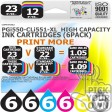 Compatible Canon 36 Pack PGi550-CLi551-XL High Capacity Ink Cartridges