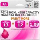 Compatible Canon PGi-1500XLM Magenta High Capacity Ink Cartridge