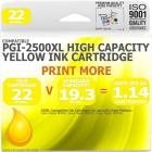 Compatible Canon PGi-2500XLY Yellow High Capacity Ink Cartridge